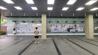 북한인권 포스터 전시회 안내2 / 서울대 중앙도서관 인문대측 게시판,  2021년 6월 9일~19일